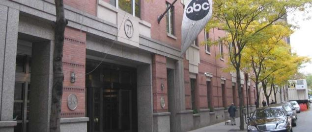 ABC News headquarters in Manhattan.