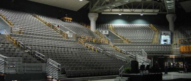 Football & Basketball Facilities Appalachian State Basketball Arena.