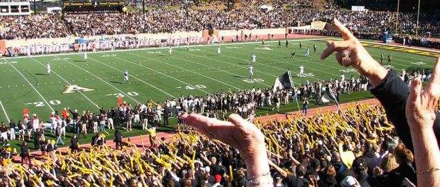 Appalachian State's Kidd Brewer Stadium vs Georgia Southern.