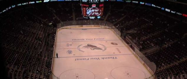 Gila River Arena, home of the Arizona Coyotes.