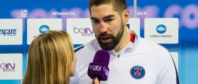 BeIN SPORTS interview with Nikola Karabatic during Handball League Cup.