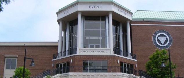 The Curb Event Center in Nashville, Tennessee.