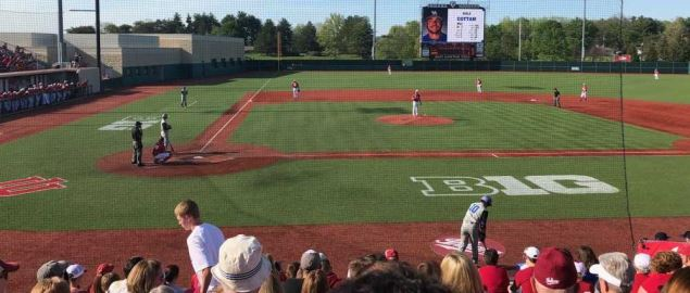 Bart Kaufman Field during a Big Ten matchup, hosted by Indiana.