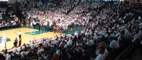 Binghamton University Events Center.
