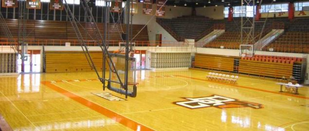 Football & Basketball Facilities Bowling Green Basketball Gym.