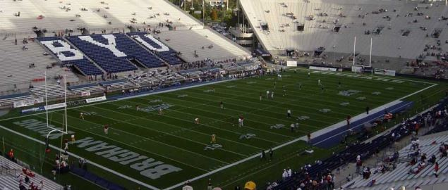LaVell Edwards Stadium, USC visits BYU.