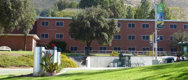Sequoia Hall on the campus of Cal Poly.