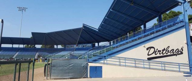 Blair Field Grandstand (Long Beach, California).