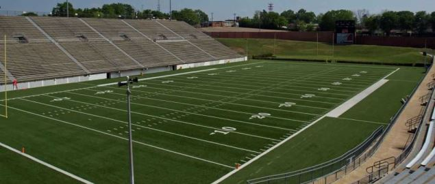 The Cramton Bowl in Montgomery, Alabama, home of the Camellia Bowl.