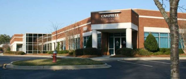 Campbell University RTP Center at 808 Aviation Parkway in Morrisville, North Carolina.