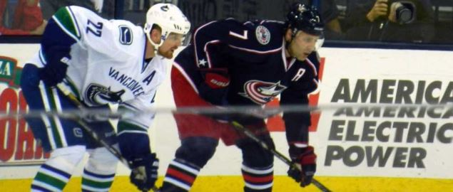 The Columbus Blue Jackets take on the Vancouver Canucks.