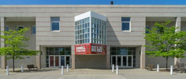 Cornell University's Bartels Hall basketball arena.