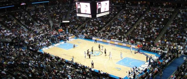 The Denver Nuggets take on the San Antonio Spurs at the Pepsi Center.