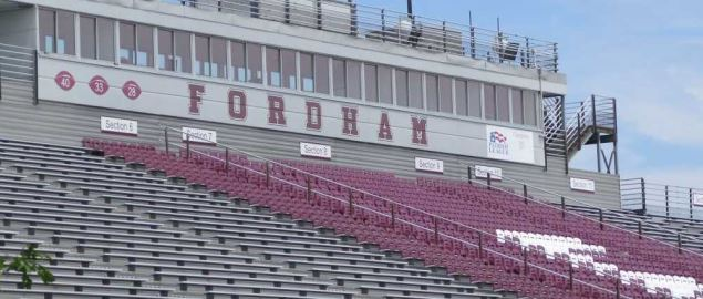 The Fordham Rams football stadium.