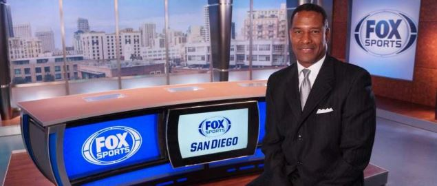 Henry S. Ford in the FOX Sports San Diego Studio