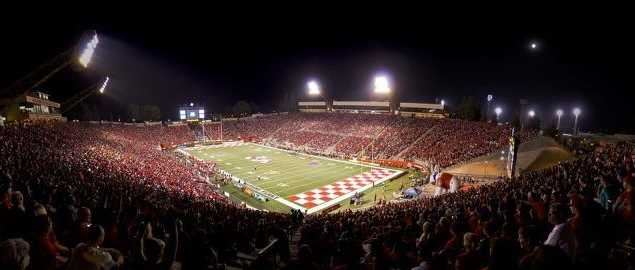 Fresno State Jim Sweeny Field (Bulldog Stadium).