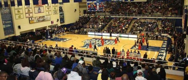 Game between Georgia State and UNC Wilmington.