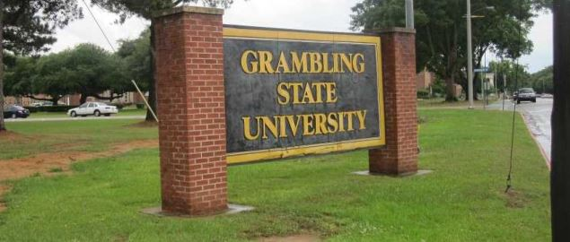 Grambling State University entrance sign.