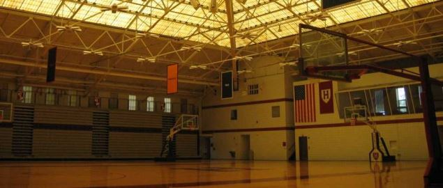Football & Basketball Facilities Harvard Gym.