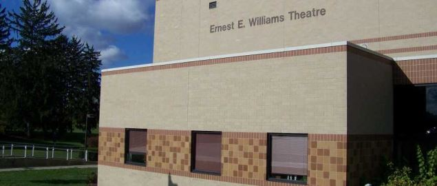 Ernest Williams Theatre on Fort Wayne Campus.