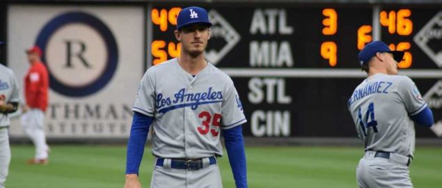 Los Angeles Dodgers outfielder Cody Bellinger.