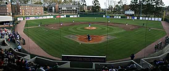 J.C. Love Field at Pat Patterson Park, Louisiana Tech University's baseball field.