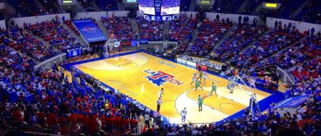 Louisiana Tech at home during a 2014 regular season game.