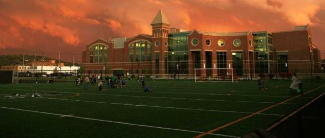 Marshall University Recreation Center.