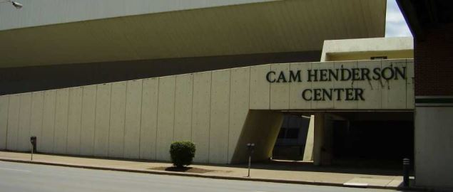 The Cam Henderson Center at Marshall University.