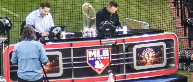 MLB Network set during 2016 World Series Game 7.