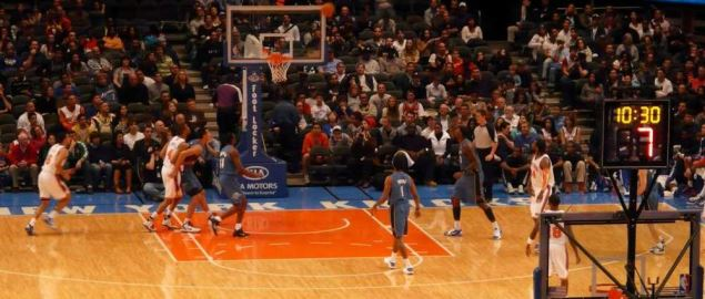 The New York Knicks take on the Washington Wizards.