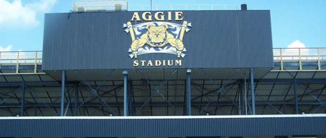 Aggie Stadium on the campus of North Carolina A&T State University.