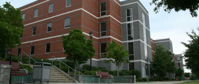 New Residence Hall at North Carolina Central University.