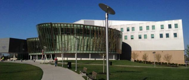 NKU's Griffin Hall, home of the School of Informatics.