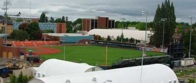 Oregon State baseball's Goss Stadium at Coleman Field.