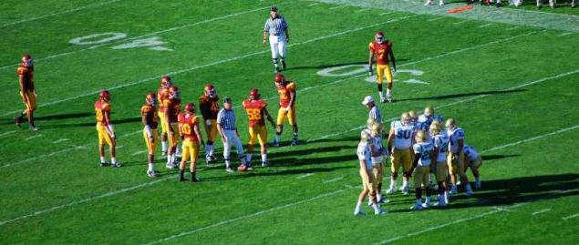 UCLA vs. USC PAC-12 matchup in 2007