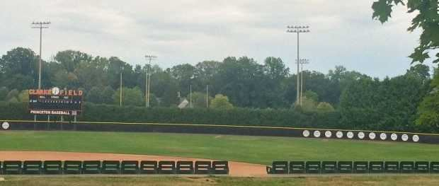 Bill Clarke Field, the field of the Princeton Tigers baseball team of Princeton University