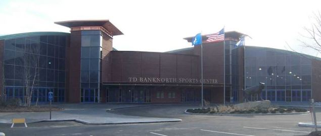The TD Bank Sports Arena, home of the Quinnipiac Bobcats.