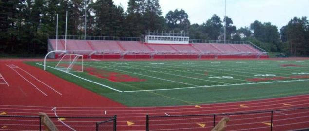 DeGol Field, home of the Saint Francis football team.