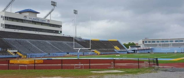 Ace W. Mumford Stadium, home of the Southern University Jaguars.