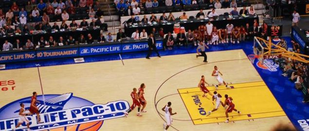 2008 Pac-10 Championship game between UCLA and Stanford.