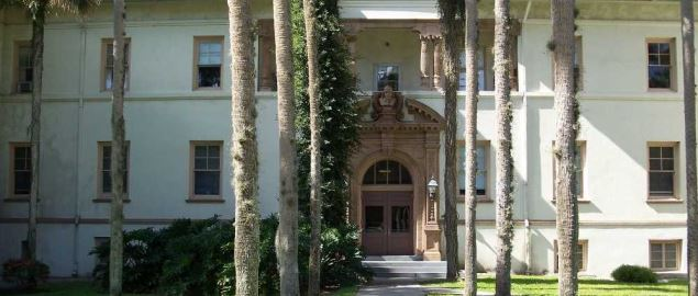 Flagler Hall on Stetson University campus, in DeLand, Florida.