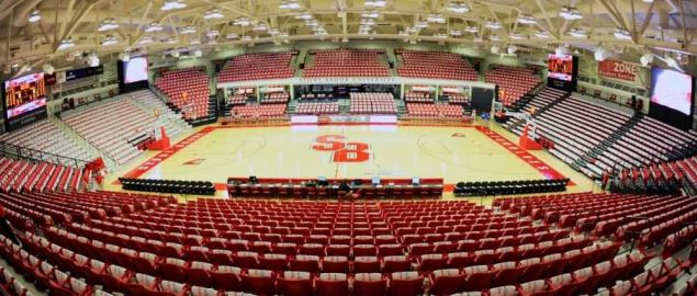 The Stony Brook University basketball Arena.