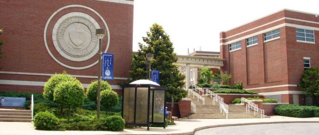 Campus building at Tennessee State University.
