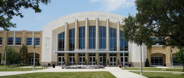 Ed and Rae Schollmaier Arena on the campus of Texas Christian University.