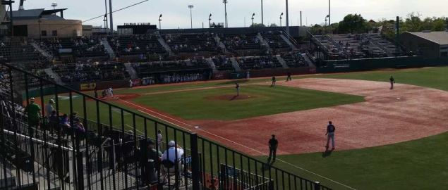 Turchin Stadium during a game vs East Carolina.