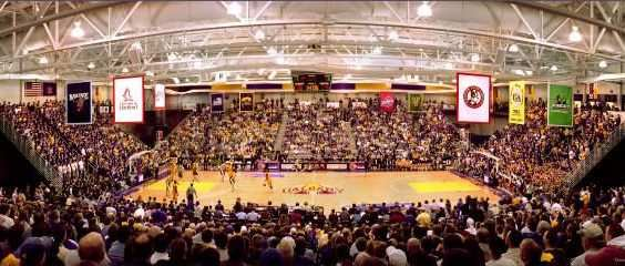SEFCU Arena is the home of UAlbany Basketball.