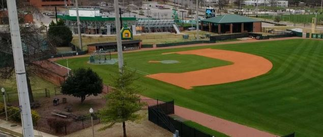 Jerry D. Young Memorial Field at the University of Alabama at Birmingham.