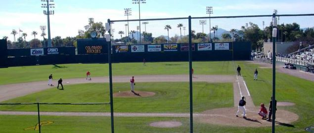Hi Corbett Field, the home field of the Arizona Wildcats baseball team.
