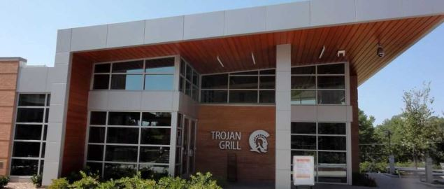 University of Little Rock's Trojan Grill.
